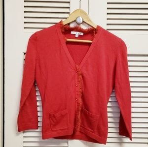 Cabi Red Blouse Extra Small